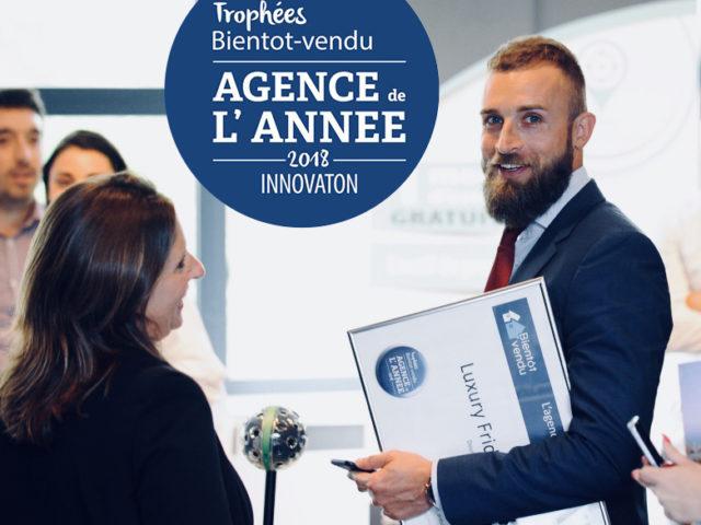 Fridenbergs, élue meilleure agence wallonne de l'Innovation 2018