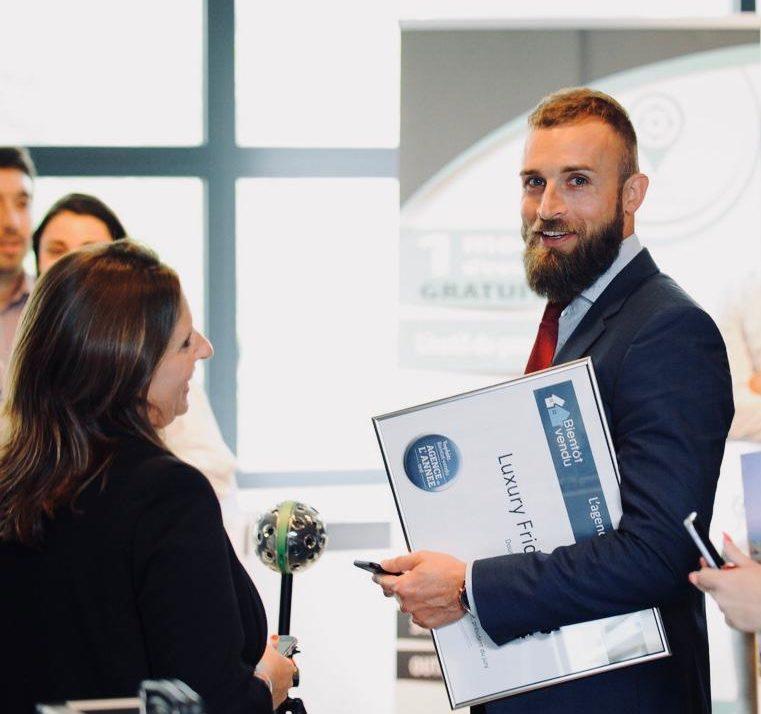 Be Luxury, élue meilleure agence wallonne de l'Innovation 2018